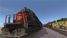 In game image of Trainz Simulator 12 on the Valve Steam.