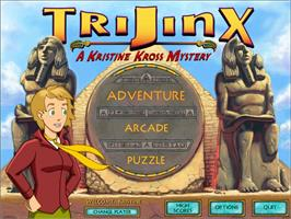 In game image of TriJinx: A Kristine Kross Mystery on the Valve Steam.