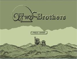 In game image of Two Brothers on the Valve Steam.