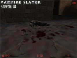 In game image of Vampire Slayer on the Valve Steam.