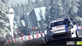 In game image of WRC 4 FIA World Rally Championship on the Valve Steam.