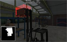 In game image of Warehouse and Logistics Simulator on the Valve Steam.