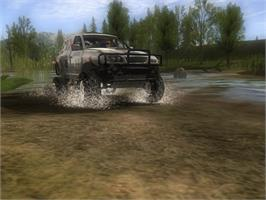 In game image of Xpand Rally Xtreme on the Valve Steam.