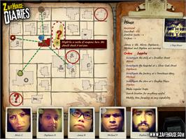 In game image of Zafehouse: Diaries on the Valve Steam.