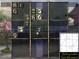 In game image of Zen of Sudoku on the Valve Steam.