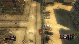 In game image of Zombie Driver on the Valve Steam.