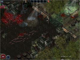 In game image of Zombie Shooter on the Valve Steam.