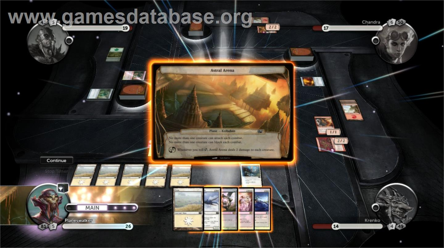 Magic: The Gathering - Duels of the Planeswalkers 2013 - Valve Steam - Artwork - In Game