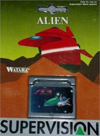 Box cover for Alien on the Watara Supervision.
