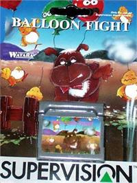 Box cover for Balloon Fight on the Watara Supervision.