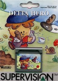 Box cover for Delta Hero on the Watara Supervision.