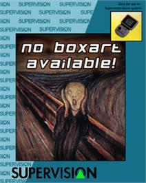 Box cover for Fatal Craft on the Watara Supervision.