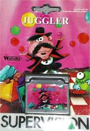 Box cover for Juggler on the Watara Supervision.