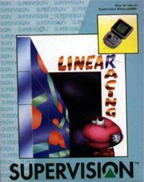 Box cover for Linear Racing on the Watara Supervision.