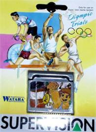 Box cover for Olympic Trials on the Watara Supervision.