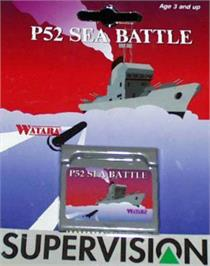 Box cover for P-52 Sea Battle on the Watara Supervision.