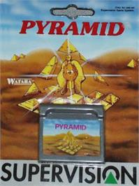 Box cover for Pyramid on the Watara Supervision.