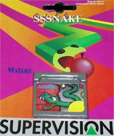 Box cover for Sssnake on the Watara Supervision.