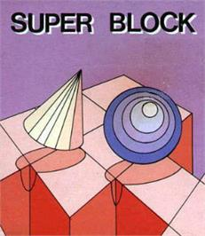 Box cover for Super Block on the Watara Supervision.