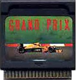 Cartridge artwork for Grand Prix on the Watara Supervision.