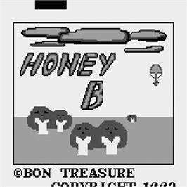 Title screen of Honey Bee on the Watara Supervision.