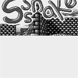 Title screen of Sssnake on the Watara Supervision.