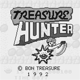 Title screen of Treasure Hunter on the Watara Supervision.