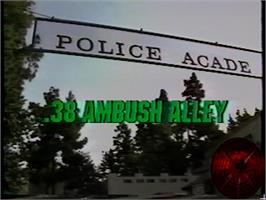Title screen of .38 Ambush Alley on the WoW Action Max.