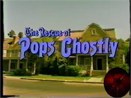 Title screen of Rescue of Pops Ghostly , The on the WoW Action Max.