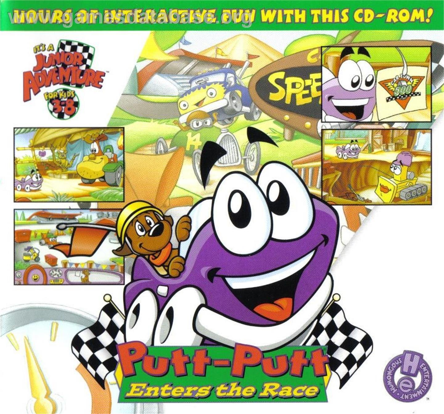 putt putt enters the race online game images